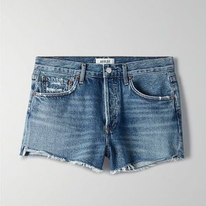 AGOLDE Parker Denim Shorts